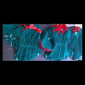 Lot of 35 Handmade Christmas Kids Elf's Costume